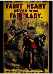 Book cover of Faint Heart Never Won Fair Lady, a Modern Story
