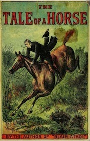 Book cover of The Tale of a Horse
