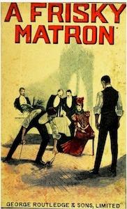 Book cover of A Frisky Matron